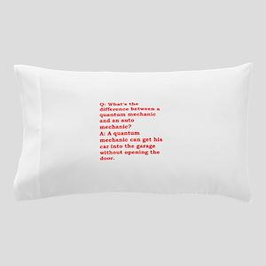 physics joke Pillow Case