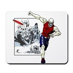 Disc Golf TOMB OF TROUBLE Mousepad