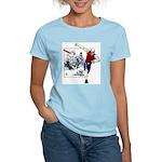 Disc Golf TOMB OF TROUBLE Women's Light T-Shirt