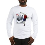 Disc Golf TOMB OF TROUBLE Long Sleeve T-Shirt
