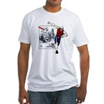 Disc Golf TOMB OF TROUBLE Fitted T-Shirt