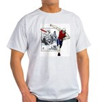 Disc Golf TOMB OF TROUBLE Light T-Shirt