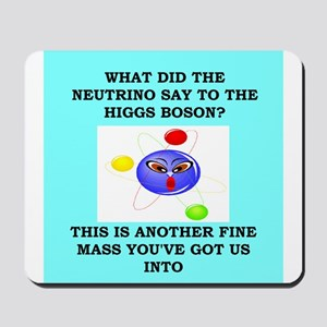 physics joke Mousepad