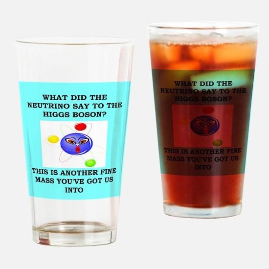 physics joke Drinking Glass