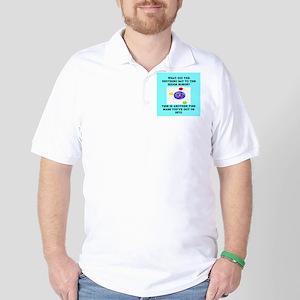 physics joke Golf Shirt