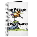 Disc Golf EXPLODE THE CHAINS Journal
