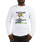 Disc Golf EXPLODE THE CHAINS Long Sleeve T-Shirt