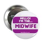 I'm the midwife nametag 2.25