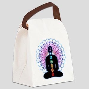 Chakras Canvas Lunch Bag