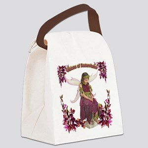 Visions of Sugarplums Canvas Lunch Bag