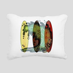 Surf's Up Rectangular Canvas Pillow