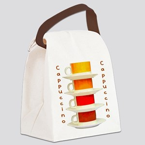 Cappuccino Canvas Lunch Bag