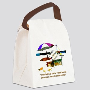 Invincible Summer Canvas Lunch Bag