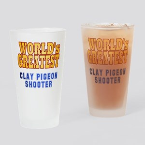 World's Greatest Clay Pigeon Shooter Drinking Glas