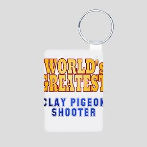 World's Greatest Clay Pigeon Shooter Aluminum Phot