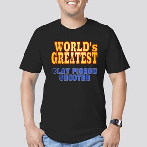 World's Greatest Clay Pigeon Shooter Men's Fitted