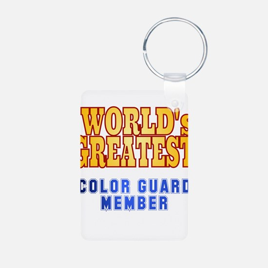 World's Greatest Color Guard Member Keychains
