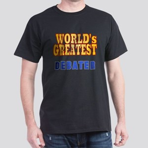 World's Greatest Debater Dark T-Shirt