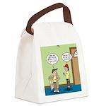 knots_popcorn_sales_3d Canvas Lunch Bag