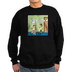 knots_popcorn_sales_3d Sweatshirt (dark)