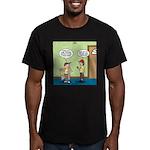 knots_popcorn_sales_3d Men's Fitted T-Shirt (d