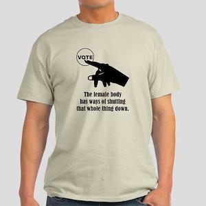 Shutting That Whole Thing Down Light T-Shirt