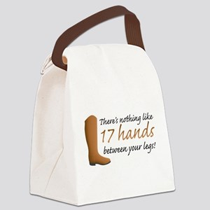 17 Hands Canvas Lunch Bag