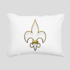 FluerDeLisHeaven Rectangular Canvas Pillow
