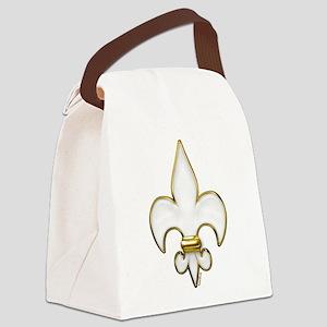 FluerDeLisHeaven Canvas Lunch Bag