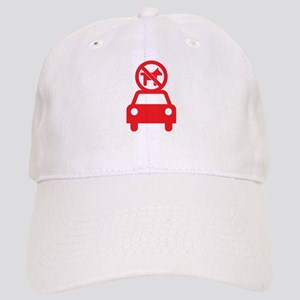 No Dogs on Cars Cap