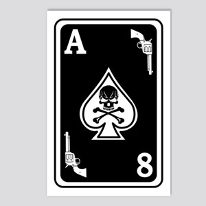 ST-8 Ace of Spades Postcards (Package of 8)