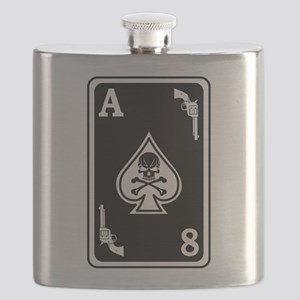 ST-8 Ace of Spades Flask