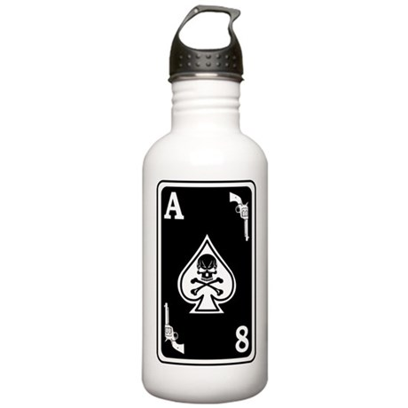 ST-8 Ace of Spades Stainless Water Bottle 1.0L