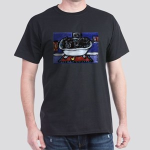BLACK CHOW CHOW BATH Black T-Shirt