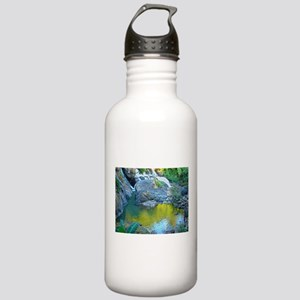 Secluded Waterfall Stainless Water Bottle 1.0L