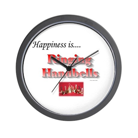 Happiness Is... Wall Clock