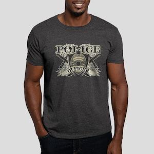 Vintage Police Officer Dark T-Shirt