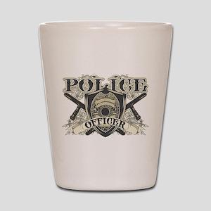 Vintage Police Officer Shot Glass