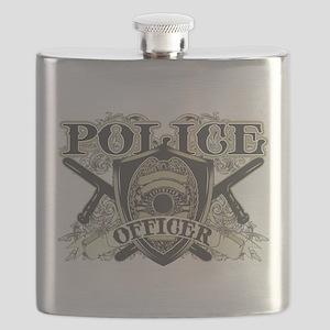 Vintage Police Officer Flask