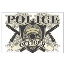 Vintage Police Officer Large Poster