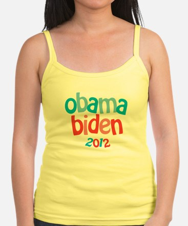 Obama Biden 2012 Jr.Spaghetti Strap