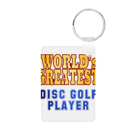 World's Greatest Disc Golf Player Aluminum Photo K