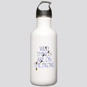 Wild Things Are On The Prowl Stainless Water Bottl