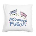 Fugu Square Canvas Pillow