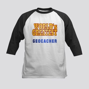 World's Greatest Geocacher Kids Baseball Jersey