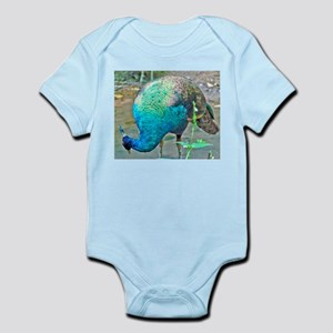 Lady Peacock Infant Bodysuit