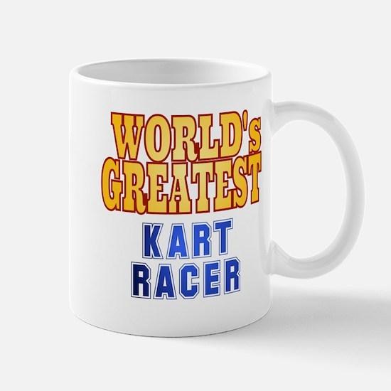 World's Greatest Kart Racer Mug