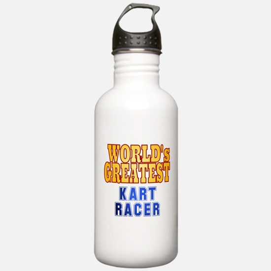 World's Greatest Kart Racer Water Bottle