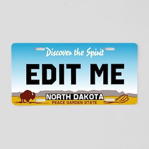 North Dakota - Discover the Spirit licence plate