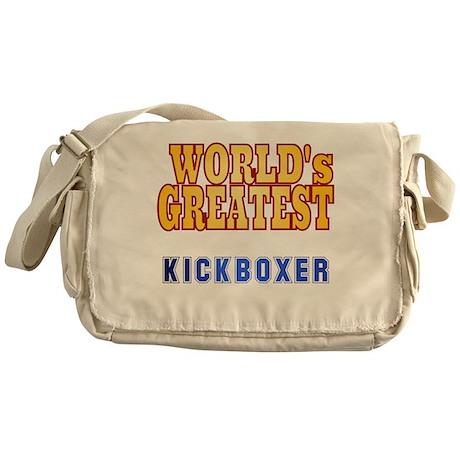 World's Greatest Kickboxer Messenger Bag